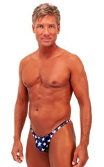 Rio Tanning Bikini Swimsuit in Stars and Stripes Tricot nylon/lycra 1