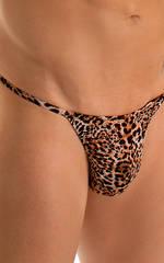 Y Back G String Thong in Super ThinSkinz Cheeta 3