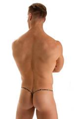 Y Back G String Thong in Super ThinSkinz Cheeta 2