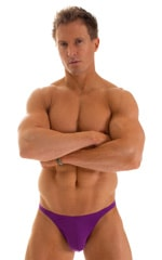 Fitted Bikini Bathing Suit in ThinSKINZ Grape 1