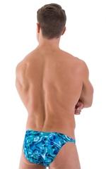Smooth Front Bikini Bathing Suit in Liquid Bahamas 3