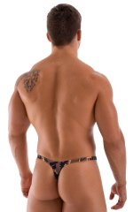 T Back Thong Swimsuit in Camouflage 3