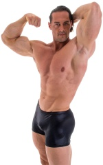 Posing NPC-IFBB Physique Classic Short in Wet Look Black 1