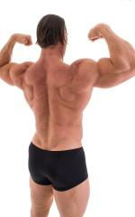 Posing NPC-IFBB Physique Low Cut Short in Shiny Black 5