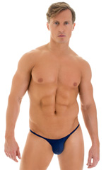 Micro Pouch - Puckered RIO Back in Navy Blue 1