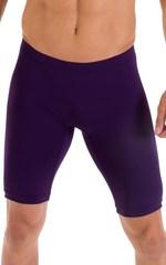 Lycra Bike Length Shorts in ThinSKINZ Blackberry 4