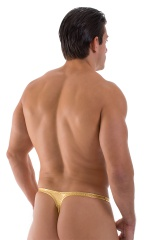 Quick Release Thong - Bravura Pouch in Liquid Gold 3