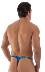 Quick Release Thong - Bravura Pouch in Liquid Bahamas 3
