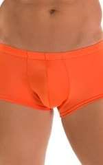 Fitted Pouch - Boxer - Swim Trunks in Pumpkin 3