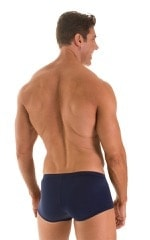 Fitted Pouch - Boxer - Swim Trunks in ThinSKINZ Navy 2