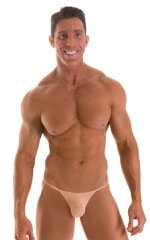 Stuffit Pouch G String Swimsuit in Super ThinSKINZ Nude 1