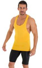 String Tank Gym Tee in ThinSKINZ Sunset Yellow 4