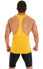 String Tank Gym Tee in ThinSKINZ Sunset Yellow 5
