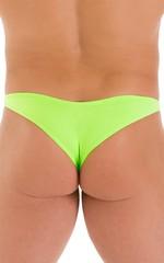 Tanga Cheekini Bikini in ThinSKINZ Lime 5