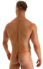 Y Back G String Thong in Ice Karma Atomic Tangerine 2