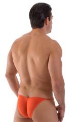 Micro Pouch - Puckered Back - Rio Bikini in Semi Sheer Apricot 3