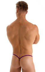 Stuffit Pouch G String Swimsuit in ThinSKINZ Grape 2