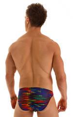 Bikini Brief Swimsuit in Tan Through Wavelength  2