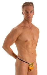 Roman G String Swim Thong in ThinSkinz Golden Kat 1