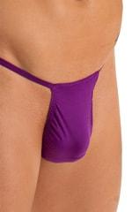 Roman G String Swim Thong in ThinSkinz Grape 3