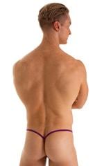 Roman G String Swim Thong in ThinSkinz Grape 2