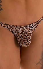 Stuffit Pouch Thong in Super ThinSKINZ Cheeta 3