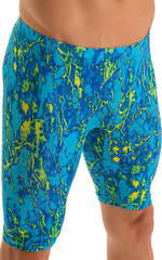 Lycra Bike Length Shorts in Super ThinSKINZ Cool Infared 3