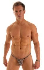 Micro Pouch - Puckered Back - Rio Bikini in Super ThinSkinz Cheeta 1