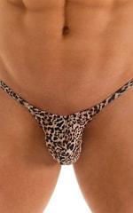 Micro Pouch - Puckered Back - Rio Bikini in Super ThinSkinz Cheeta 3