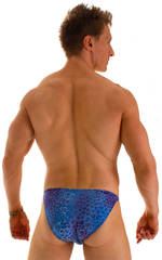 Smooth Front Bikini in Super ThinSkinz Deep Sea 2