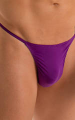 Y Back G String Thong in ThinSkinz Grape 3