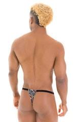 4-Way Adjustable Bikini-Tanga-Micro in Super ThinSKINZ Jumanji 6