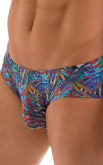 Pouch Brief Swimsuit in Super ThinSKINZ Jumanji 5
