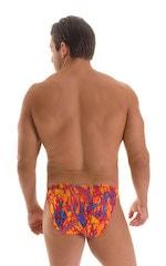 Stuffit Pouch Bikini Swimsuit in Super ThinSKINZ Infared Heat 2