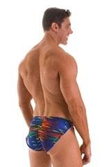 Swimsuit Cover Up Split Running Shorts in Tan Through Wavelength 2