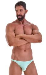 Fitted Bikini Bathing Suit in Mint 1