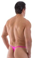 Mens Swimwear Skinny Side T Back Thong