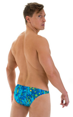 Enhancing Pouch Swim Brief in Super ThinSKINZ Infrared Cool 3