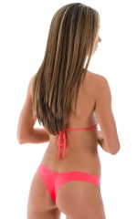 Maximum Tanning Triangle Top in ThinSkinz Neon Coral 6