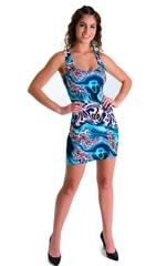 Mini Dress in Swimming Leopard 3