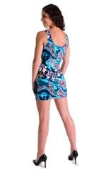 Mini Dress in Swimming Leopard 4