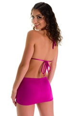 Micro Mini Skirt in Magenta 2