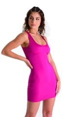 Mini Dress in Magenta 1