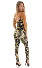 CamiCat-Catsuit-Bodysuit in Super ThinSKINZ Giant Python 2
