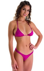 WhaleTail Thong Bikini Bottom in Magenta 3