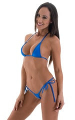 Maximum Tanning Triangle Top in Royal Blue 4