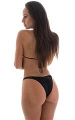 High Cut - Half Back - Scrunchie Bottom in ThinSKINZ Black 3