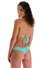 WhaleTail Thong Bikini Bottom in Mint 2