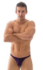 T Back Thong Swimsuit in ThinSkinz Blackberry 1