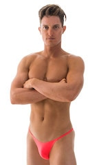 Sunseeker2 Tanning Swimsuit in ThinSKINZ Neon Coral 4